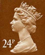 24p Discount GB Postage Stamp